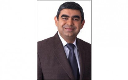 Infosys appoints Vishal Sikka to essay the role of its new MD and CEO
