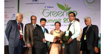 Mphasis recieves the Green Co' Bronze certification honour