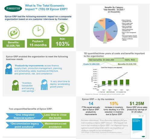 TEI Infographic Epicor ERP