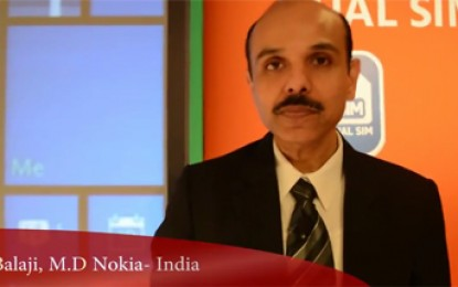 Exclusive interaction With P Balaji, M D Nokia on Lumia 630