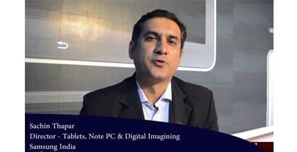Samsung India Director Sachin Thapar