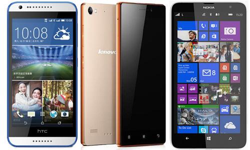 Best 5 smartphones