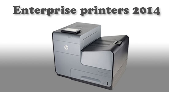 Enterprise printers launched in 2014