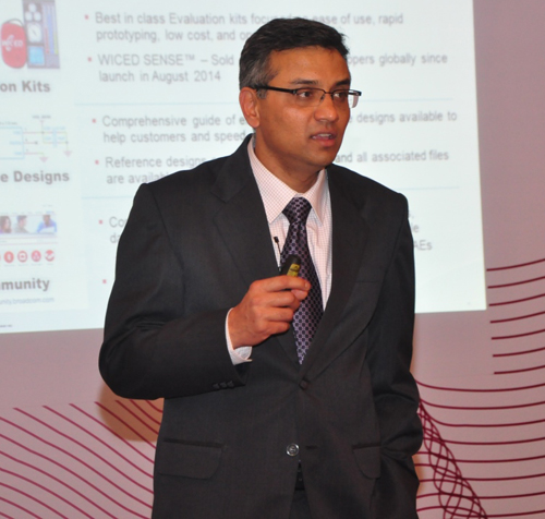 Broadcom and Anaren introduces WICED Bluetooth smart modules