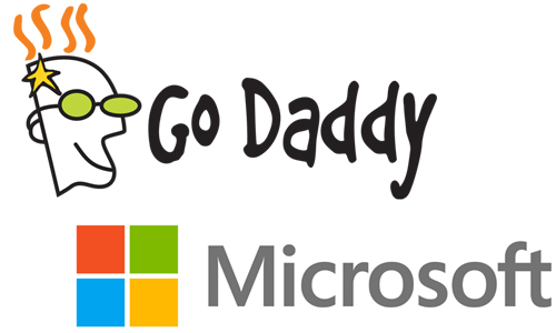 GoDaddy and Microsoft partners