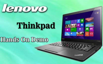 Lenovo Thinkpad X1 Carbon, Helix 2 & X250 Hands On Demo