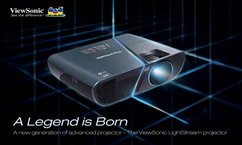 ViewSonic showcases new series of LightStream networkable projectors