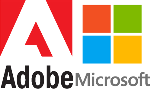 Adobe and Microsoft