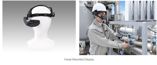 Fujitsu Brings IoT Solution Head Mounted Display