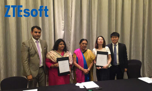 Gujarat Govt signs MoU with ZTEsoft for smart city projects