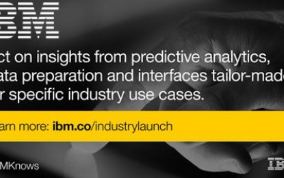 IBM introduces industry-specific predictive analytics solutions