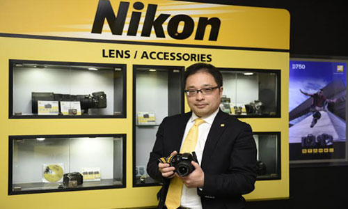 Kazuo Ninomiya MD for Nikon India