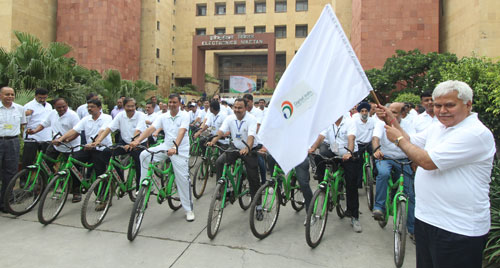 Digital India Campaign Cycle Rally