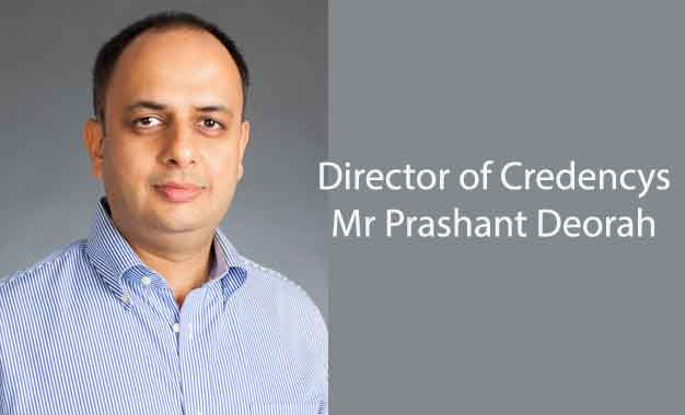 Mr Prashant Deorah Director of Credencys