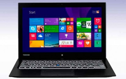 Toshiba Unveils Enterprise-class Detachable Ultrabook with Reversible Dock