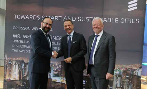 Sweden Minister Visits Ericsson Forum