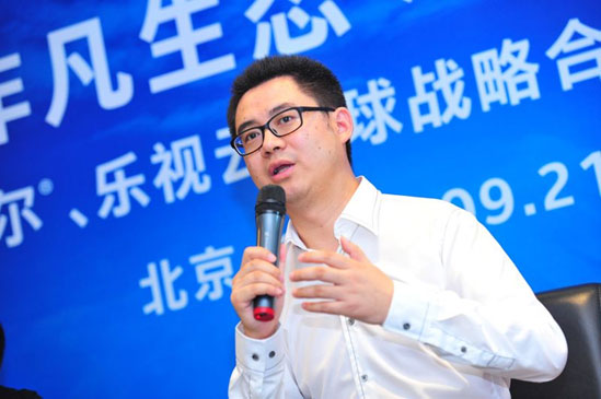 Yang Yongqiang, Chairman of Letv Cloud Computing Co., Ltd., CTO of LeTV Website