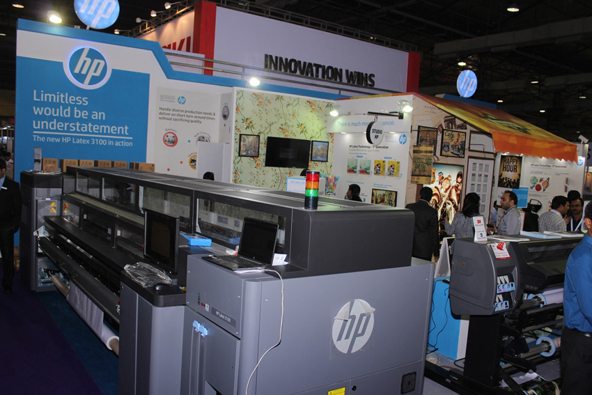 HP Latex printing technology