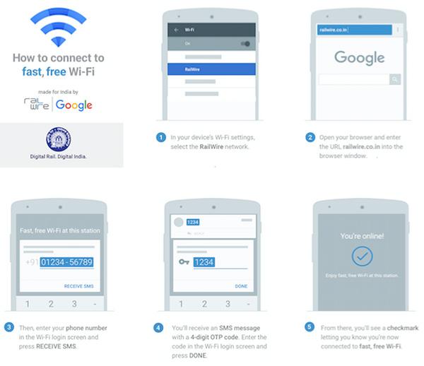 Just Google Free Wifi