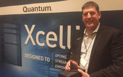 Quantum Marked for Xcellis Shared Workflow Storage Solution at 2016 Storage Visions Conference