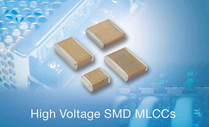 Vishay SMD MLCCs Deliver