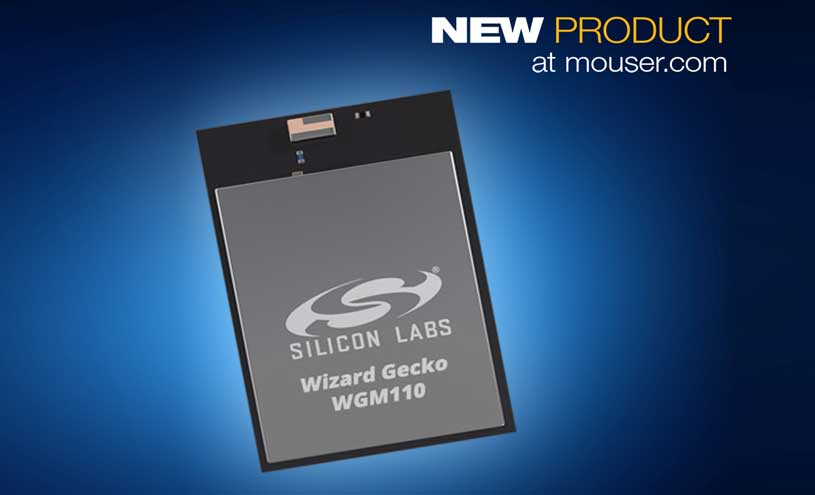 Silicon Labs' Low-Power Plug-and-Play WGM110