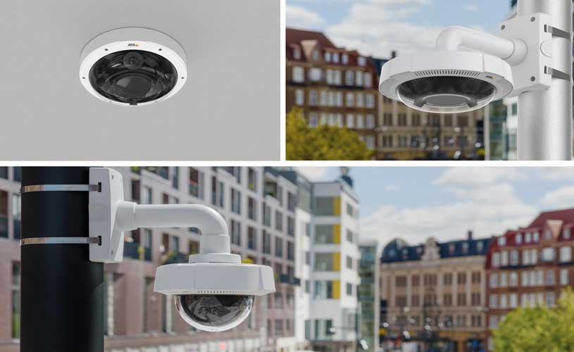 AXIS P3707-PE and AXIS Q3708-PVE Network Cameras