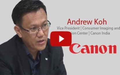 BisInfotech Catches up with Andrew Koh at a new Canon Store