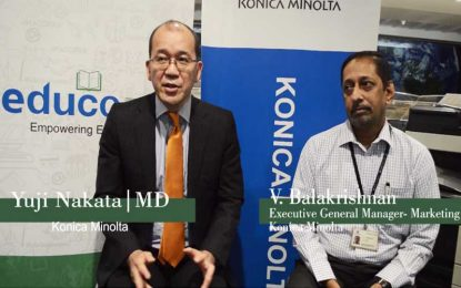 Face to Face: Unveiling Possibilities with Konica Minolta's Educo ERP