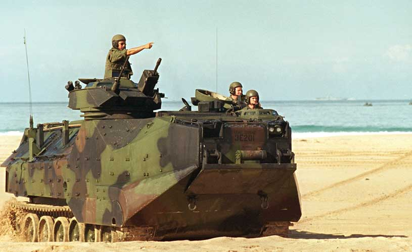 Turning Military Vehicle into efficient Transmitters to Increase Communications
