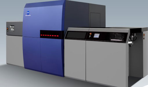 AccurioJet KM-1 B2 digital inkjet press