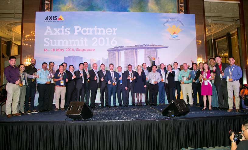 Axis Communications announces Winners