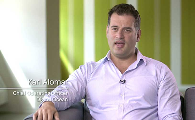 Karl Alomar is Chief Operating Officer of DigitalOcean