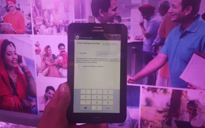 Samsung launches UIDAI complaint Galaxy Tab Iris Helming 'Make in India'