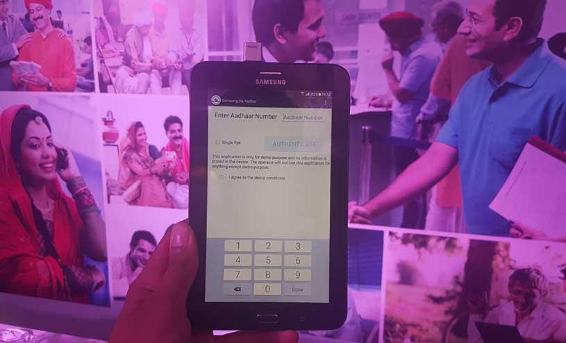 Samsung UIDAI