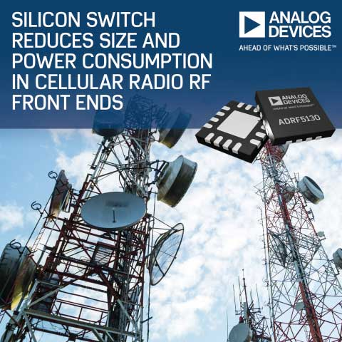 Analog Devices' New Silicon Switch Tailored