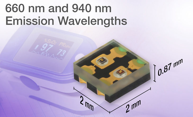 Dual-Color Red and IR Emitting Diode