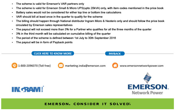 Emerson Network Power in India