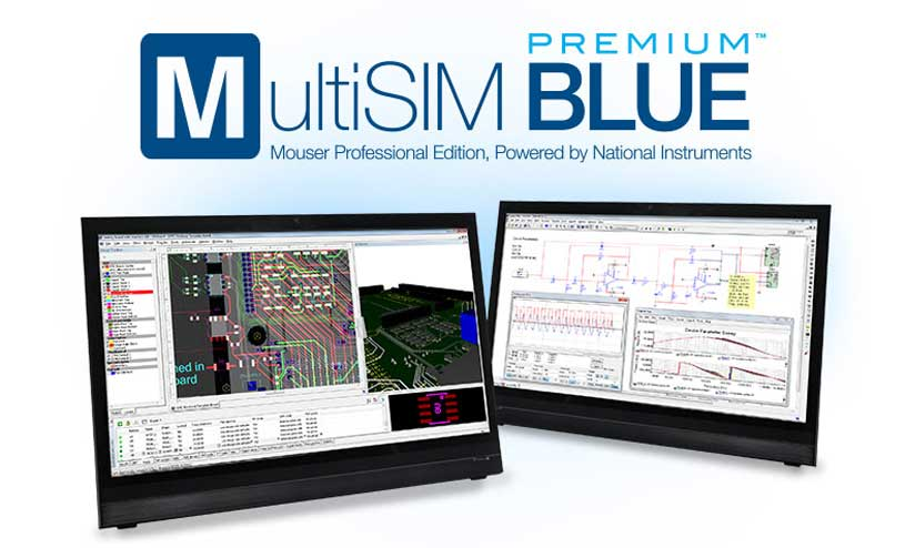 MultiSIM BLUE Premium and the Mouser Edition