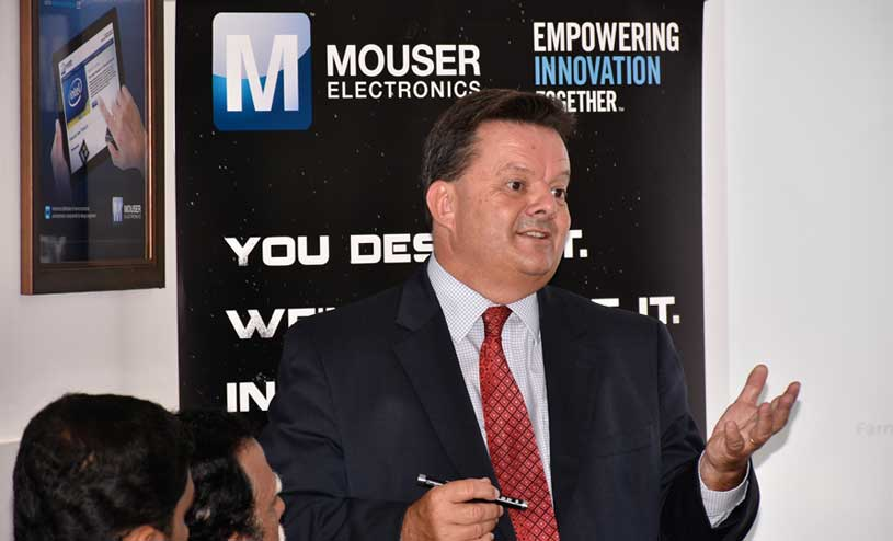 Mark Burr Lonnon Mouser Electronics
