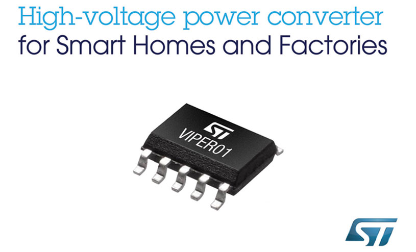 STMicroelectronics high-voltage power converter