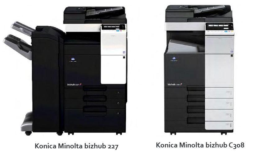 Konica Minolta A3 Multifunctional Printers