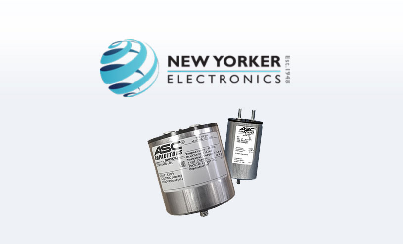 New Yorker Electronics ASC Capacitors Inverter Filter Power