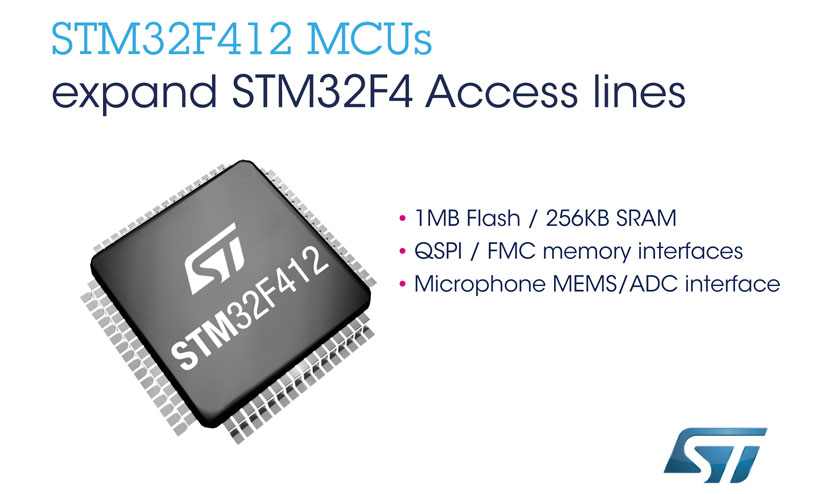STM32F4 microcontroller
