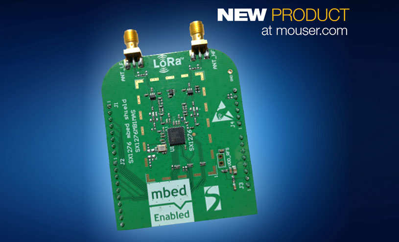 SX1276 LoRa ARM mbed-enabled shields
