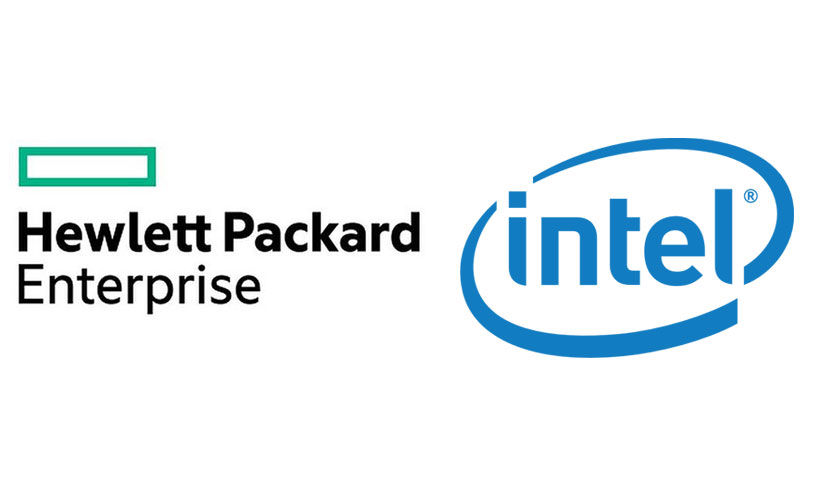 Hewlett Packard Enterprise and intel