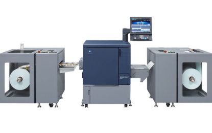 Konica Minolta Spears into the Label Printing Market with bizhub PRESS C71cf