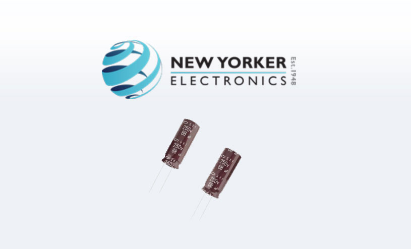 New Yorker Electronics united Chemi-Con Capacitor