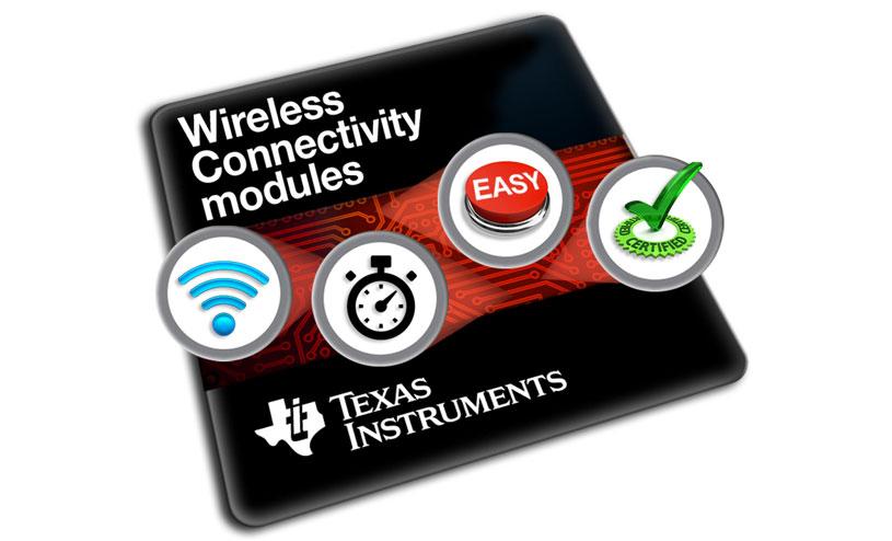 SimpleLink Bluetooth low energy certified modules