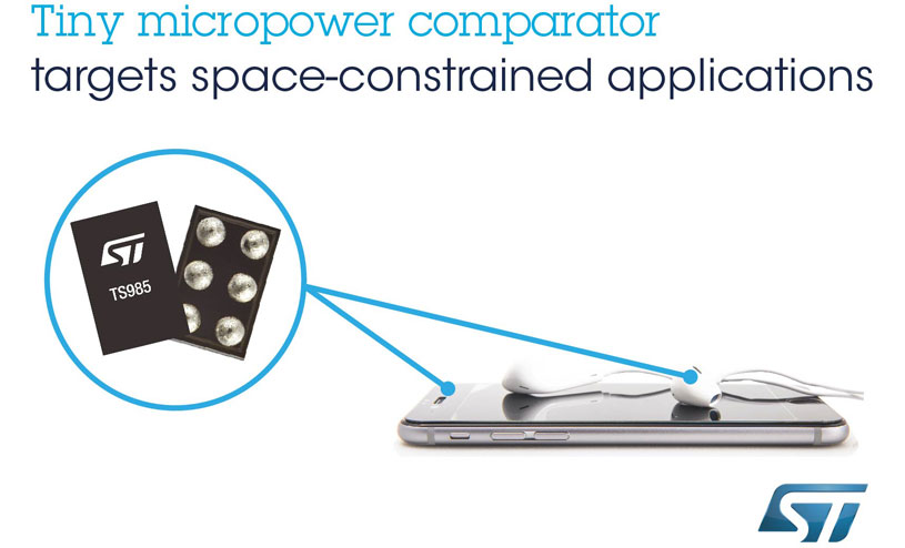 TS985 comparator